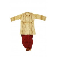 Dhuti Punjabi - Kids (3yrs) - Silk